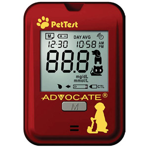 Advocate Pet Test Blood Glucose Monitoring System