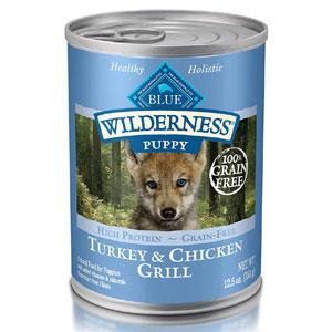 Blue Buffalo Wilderness Natural Puppy Wet Dog Food