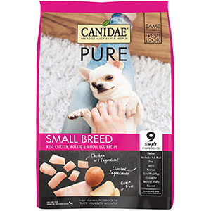 CANIDAE PURE Small Breed Real Chicken Dry Dog Food