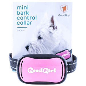 Goodboy Small Rechargeable Dog Bark Collar