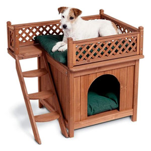 Merry Pet Elevated Dog Bed with Stairs