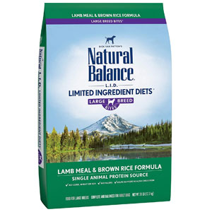 Natural Balance Bites Dry Dog Food