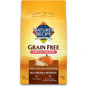 Nature's Recipe Grain Free Small Breed Dry Dog Food
