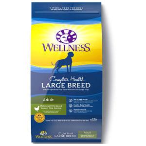 Wellness Complete Health Large Breed Dog Food