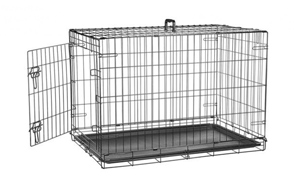AmazonBasics-Folding-Metal-Dog-Crate-image
