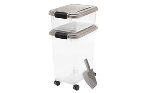 IRIS-Airtight-Dog-Food-Container-Combo-image