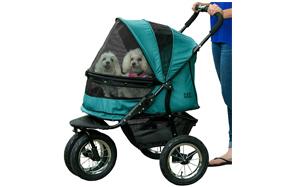 Pet-Gear-NO-Zip-Double-Pet-Dog-Stroller-image