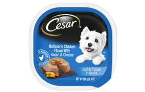 Cesar-Savory-Delights-Loaf-&-Topper-in-Sauce-Wet-Dog-Food-image