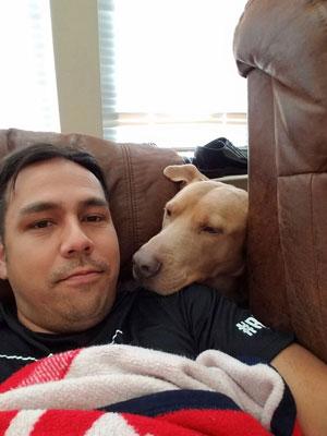 Dog look