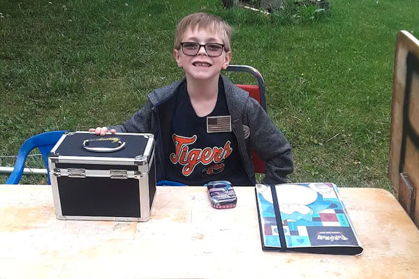 Bryson selling his Pokémon card collection