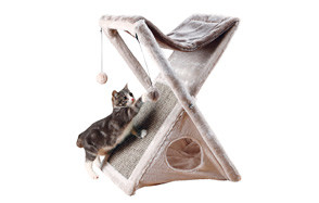 trixie pet products miguel cat hammock tower