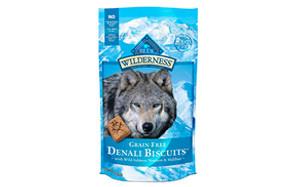 blue wilderness grain free crunchy dog treats