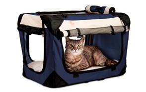 petluv happy cat carrier premium soft sided
