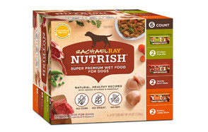 rachel ray nutrish super premium wet dog food