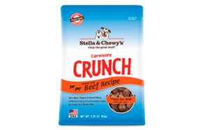 Stella & Chewy's Carnivore Crunch Dog Treats