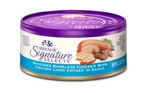 Wellness Signature Selects Natural Canned Wet Cat Food