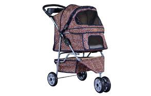 BestPet All Terrain Extra Wide Pet Stroller