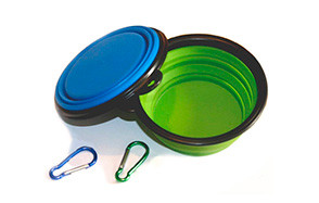 COMSUN 2 Pack Collapsible Dog Bowl