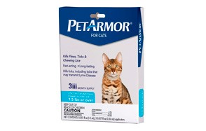 PETARMOR FleaTreatment for Cats
