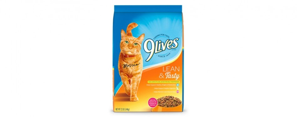 9lives dry cat food for weight loss