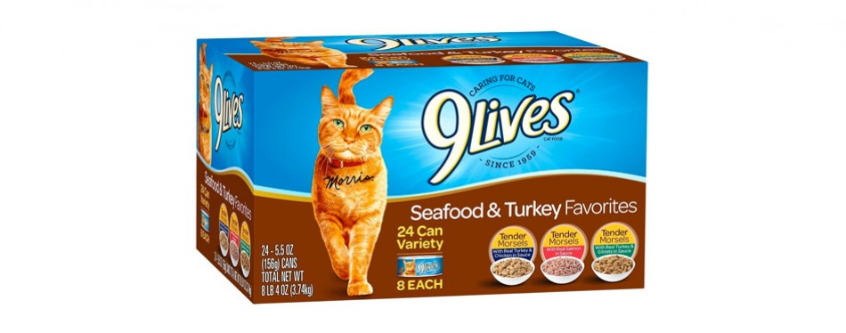 9lives wet cat food
