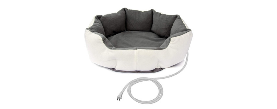 ALEKO Electric Thermo-Pad Heated Pet Bed for Cats