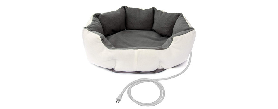 ALEKO PHBED17S Electric Heated Dog Bed