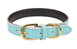 AOLOVE Leather Cat Collars