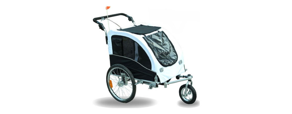 Aosom Elite Dog Bike Trailer