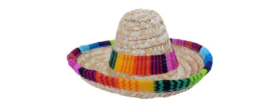 Baja Ponchos Dog Sombrero Hat