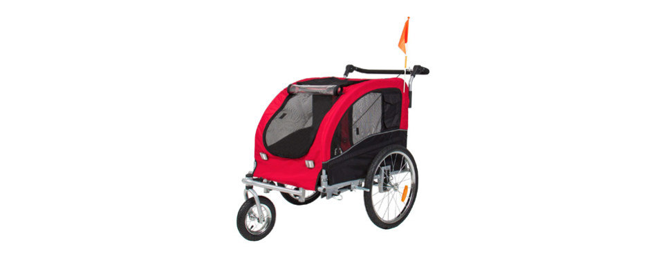 Best Choice Products Dog Bike Trailer