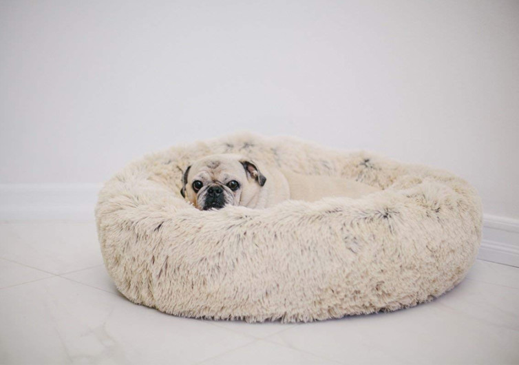 Best Friends by Sheri Luxury Shag Fuax Fur Donut Cuddler