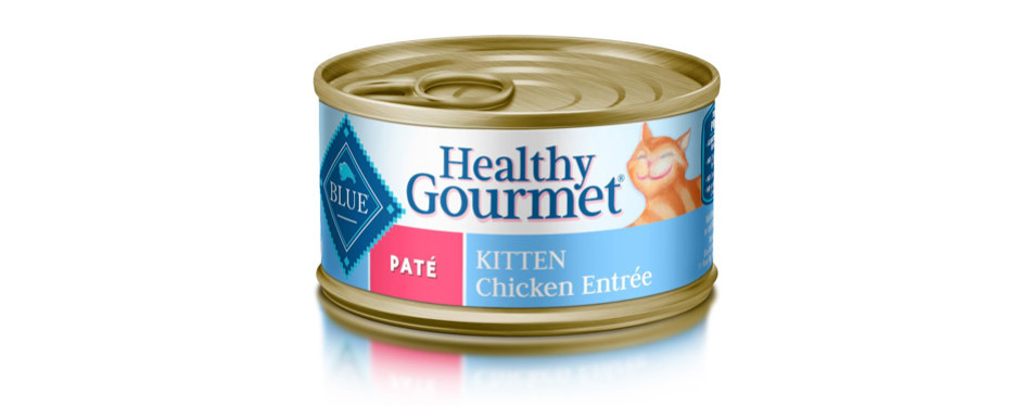 Blue Buffalo Healthy Gourmet Kitten Wet Cat Food