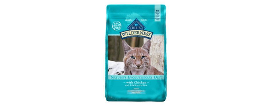 Blue Buffalo Wilderness Indoor Control Hairball Cat Food