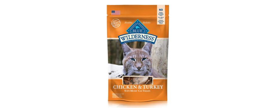 blue wilderness grain-free soft-moist cat treats