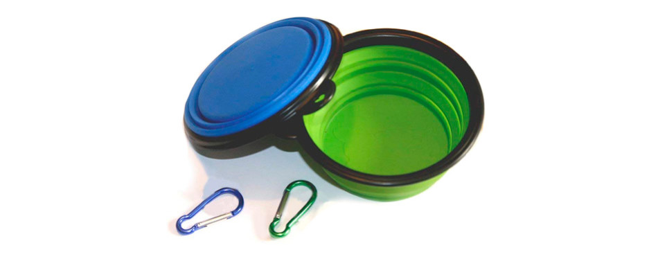 comsun collapsible cat water bowl