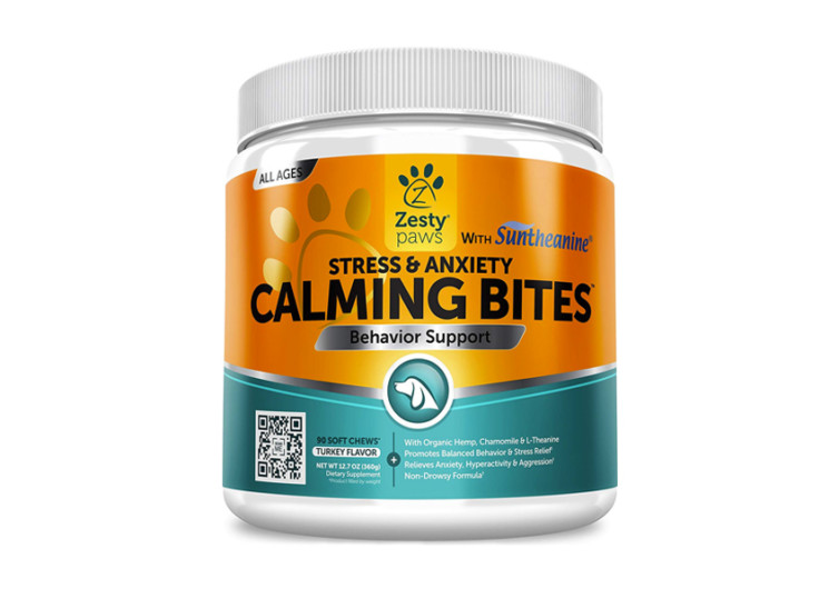 Calming Treats For Dogs Zesty Paws