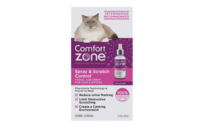 Comfort Zone Spray & Scratch Control Cat Calming Spray