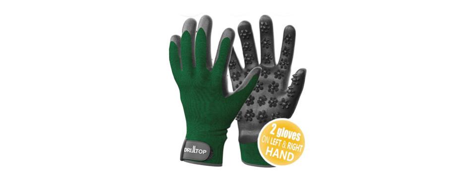 DrillTop Dog Grooming Gloves Set