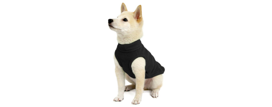 Gooby Stretch Fleece Dog Sweater