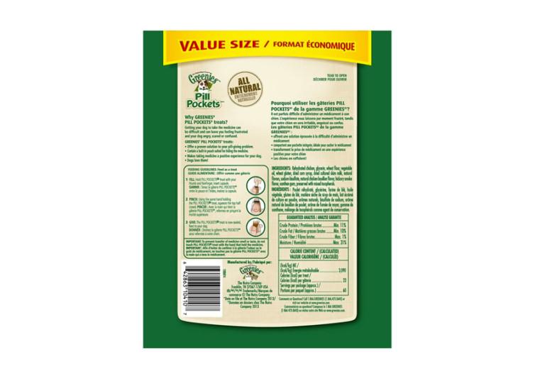 Greenies Pill Pocket Soft Dog Treats
