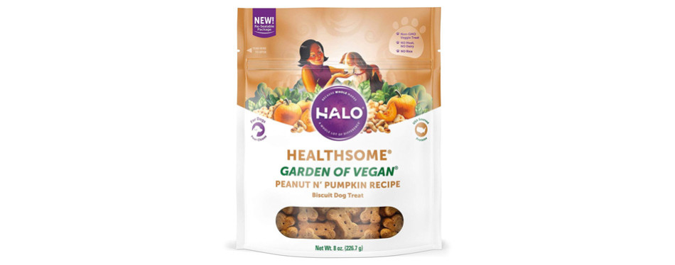 Halo Garden Vegan Dog Treats