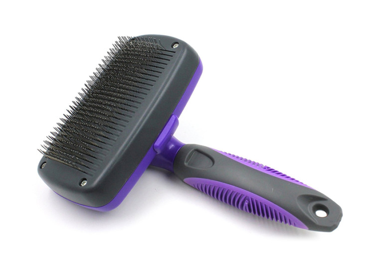 Hertzko Self Cleaning Grooming Brush
