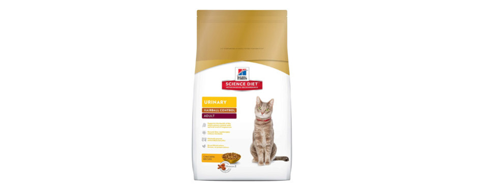 hill's science diet cat food for constipation