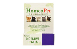 homeopet low residue cat food