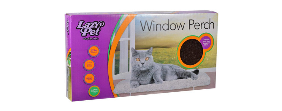 LAZY PET Deluxe Cat Window Perch Assorted Colours