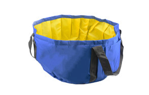 LILYS PET Portable Folding Bath Tub for Small Dogs