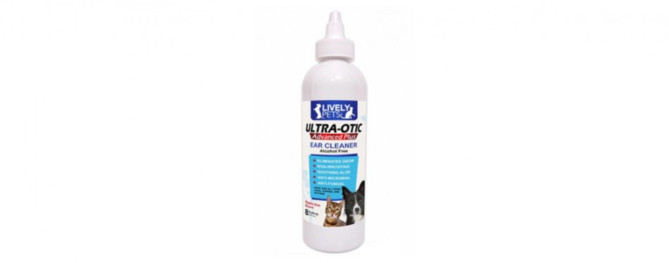 Lively Pets Ear Cleaner for Cats