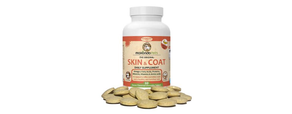 Makondo Pets Skin Coat Vitamins for Cats