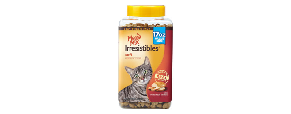meow mix irresistible cat treats